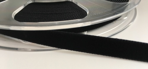 9mm Velvet Ribbon - Black