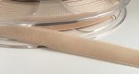 9mm Velvet Ribbon - Beige