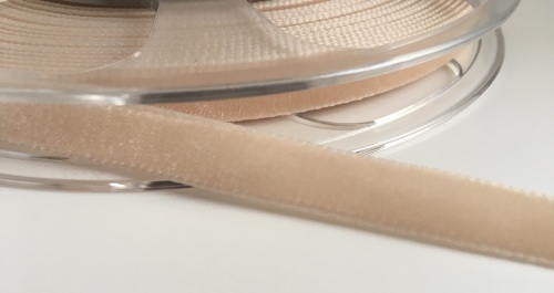 9mm Velvet Ribbon - Beige