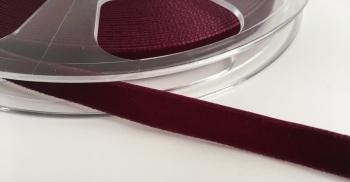 9mm Velvet Ribbon - Plum