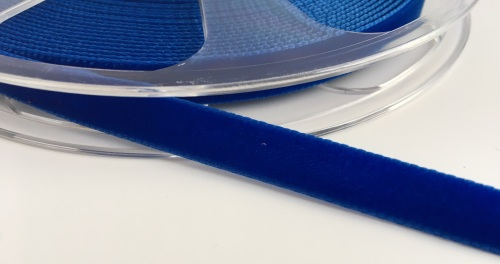 9mm Velvet Ribbon - Royal Blue