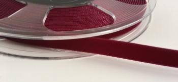 9mm Velvet Ribbon - Wine
