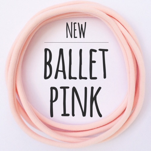 Ballet Pink Dainties Nylon Headbands
