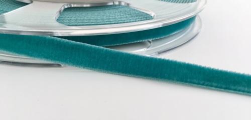 9mm Velvet Ribbon - Teal