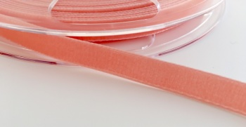 9mm Velvet Ribbon - Peach