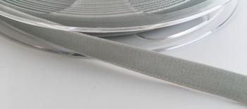9mm Velvet Ribbon - Silver