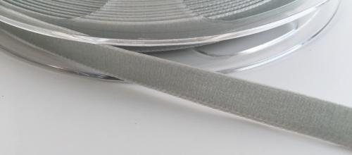 9mm Velvet Ribbon - Grey