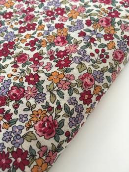 Frou Frou Cotton Lawn - Fleuri 19 Rubis Eclatant