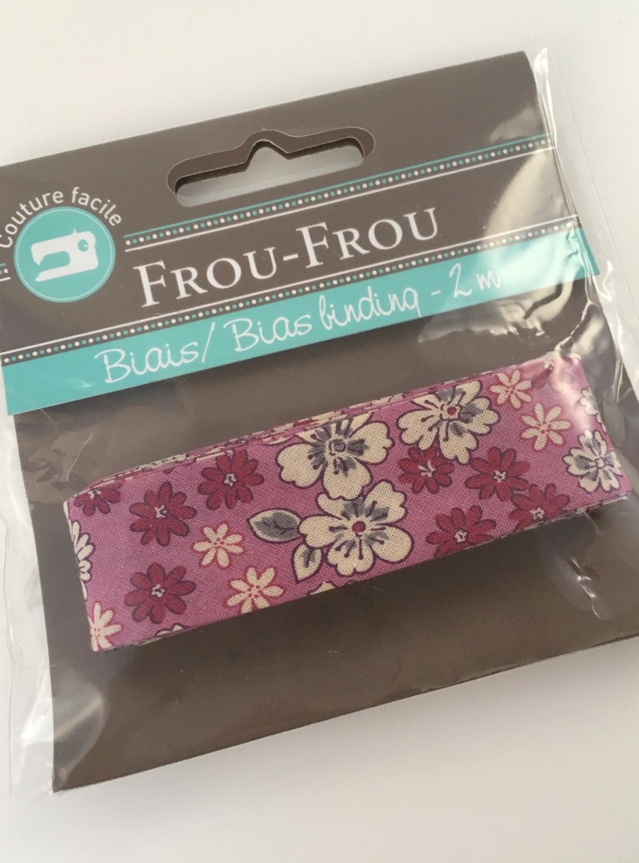 Frou Frou Bias Binding Fleuri 1