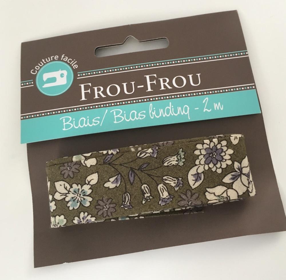 Frou Frou Bias Binding Fleuri 3