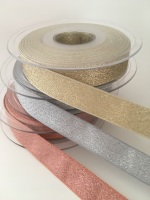 15mm Lamé  Ribbon