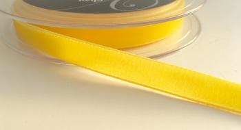 9mm Velvet Ribbon - Yellow