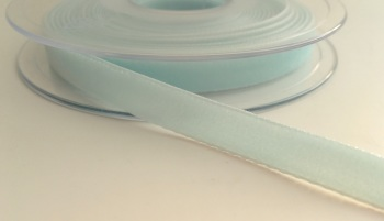 9mm Velvet Ribbon - Light Blue