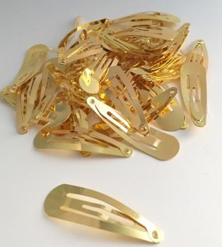 Gold Snap Clip 5cm