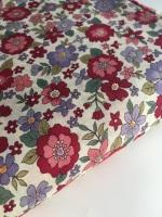 Frou Frou Cotton Lawn - Fleuri 20 Rubis Eclatant