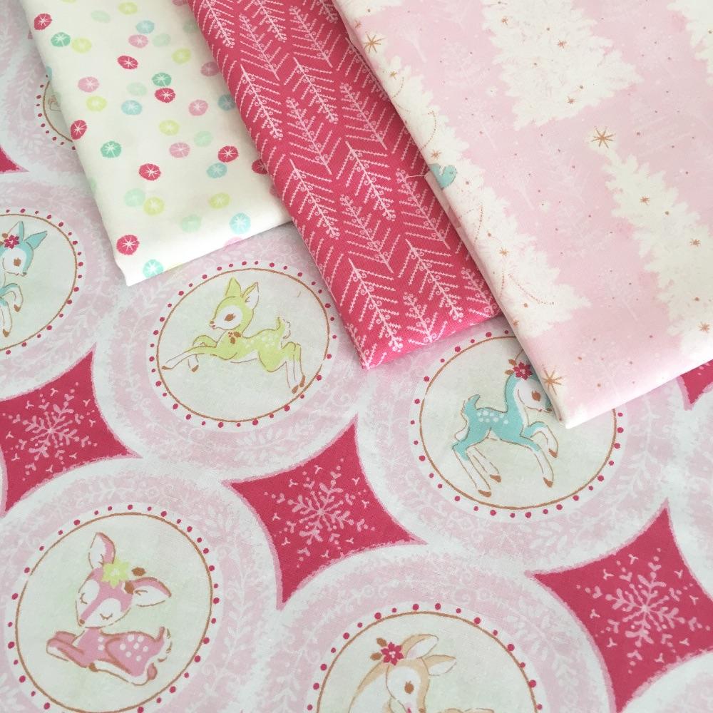 Christmas Deer by Blend Fabrics