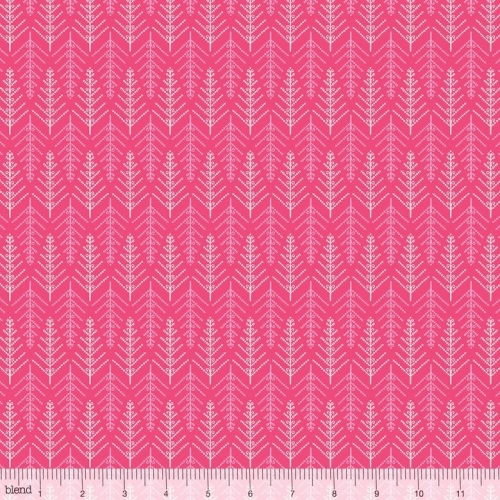 Christmas Dear By Blend - Tinsel Trees Pink