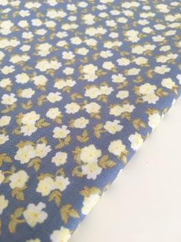 Lecien La Conner Metallic - Mini Florals Blueberry