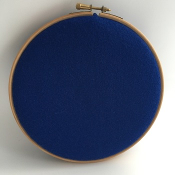 Royal Blue Wool Blend Felt