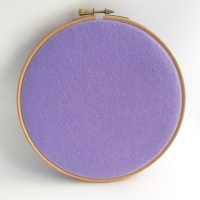 <!--052-->Fields of Lilacs Wool Blend Felt