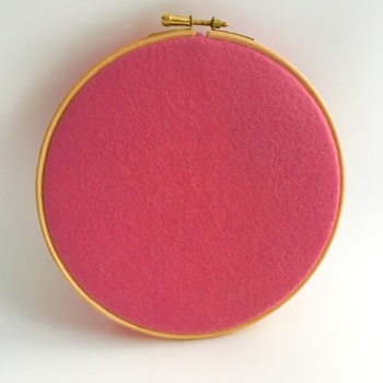 English Rose Wool Blend Felt