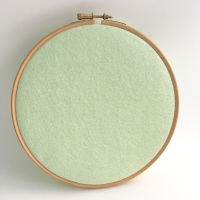 <!--077-->Hint of Mint Wool Blend Felt