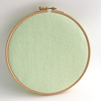 Hint of Mint Wool Blend Felt