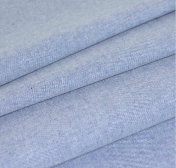 Chambray Plain - Denim Blue