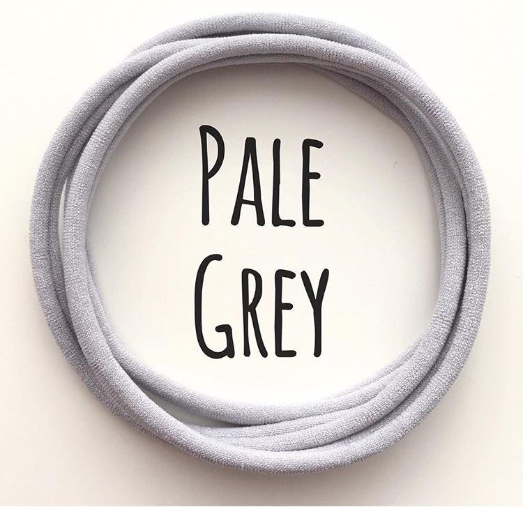 Pale Grey Dainties Nylon Headbands - ARRIVING SOON!!