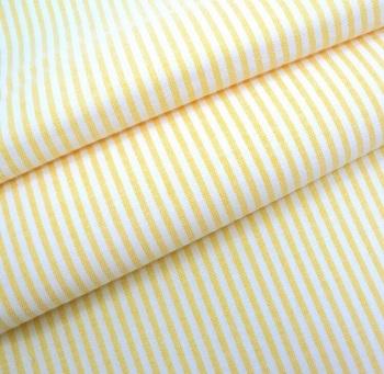 Chambray Candy 3mm Stripe - Lemon