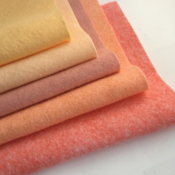 Just Peachy - Wool Blend Felt Collection