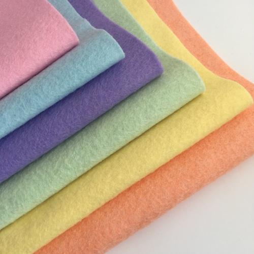 Pastel Rainbow - Wool Blend Felt Collection