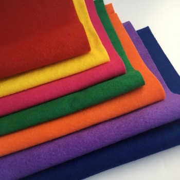 Rainbow Bright - Wool Blend Felt Collection