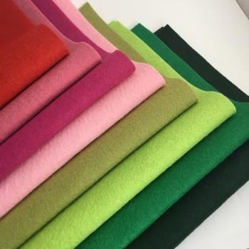 Rose Garden - Wool Blend Felt Collection