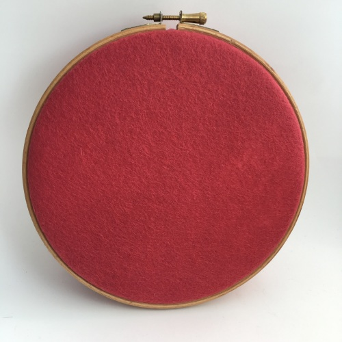 <!--039-->Strawberry Dream Wool Blend Felt