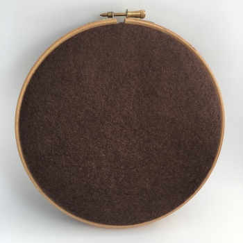 Light Brown Wool Blend Felt