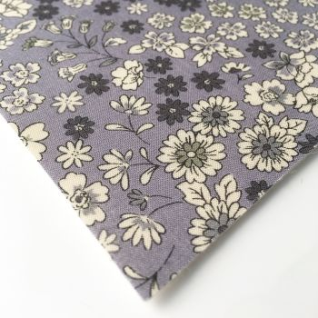 Frou Frou - Fleuri 6 Lavande - Felt Backed Fabric