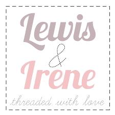 Felt Backed Fabric - Lewis and Irene