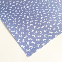 Ditsy Bows - Lavender - Felt Backed Fabric