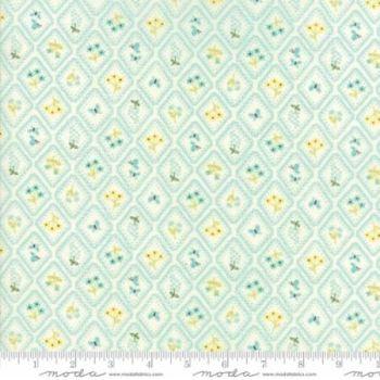 Moda Fabrics - Home Sweet Home - Aqua Garden Cameo