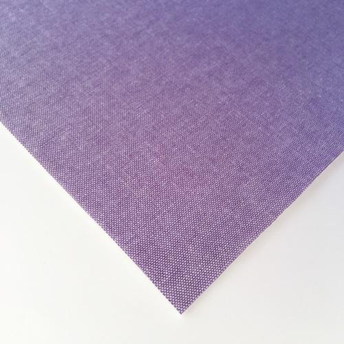 Chambray Plain - Mauve - Felt Backed Fabric