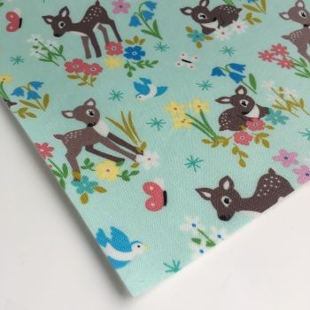 Felt Backed Fabric  - Animals