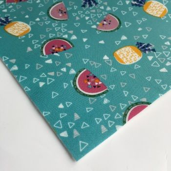Felt Backed Fabric  - Food