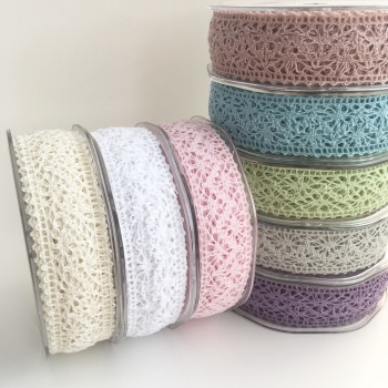 22mm Crotchet Cotton Lace