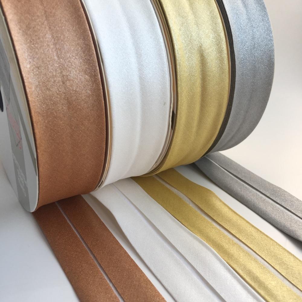 30mm Metallic Bias Binding