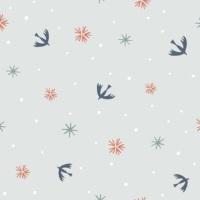 Dashwood Studio - Winterfold - Winter Birds Copper Metallic