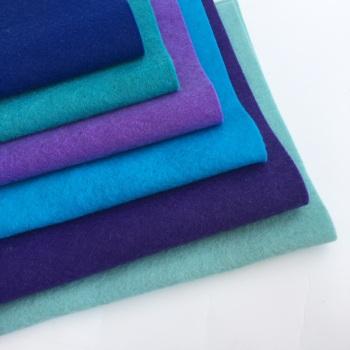 Peacock - Wool Blend Felt Collection