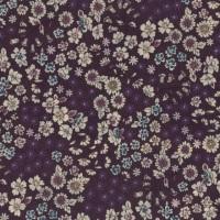 Frou Frou Cotton Lawn - Fleuri 8 Prune Delicate