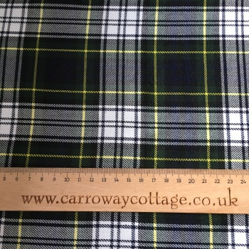 Tartan - Gordon Dress - Felt Backed Fabric