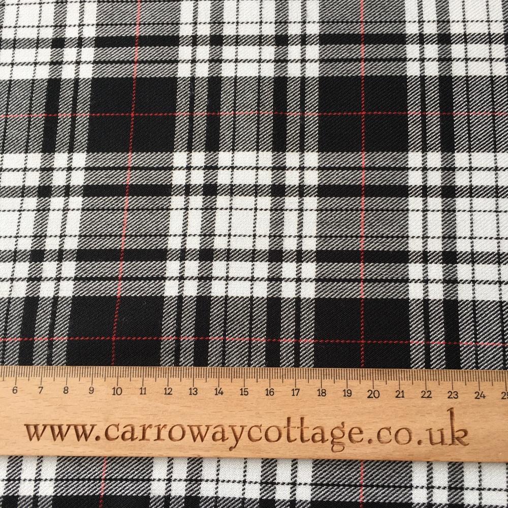 Tartan - Menzies Dress - Felt Backed Fabric